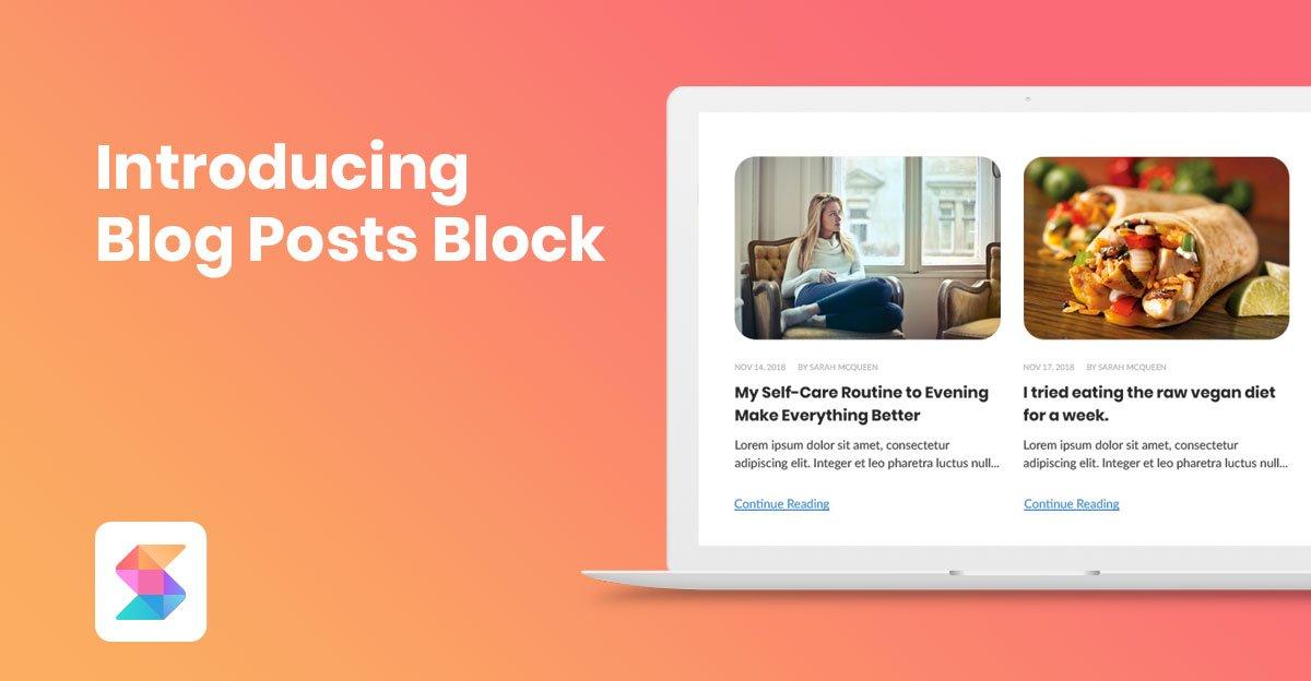 Introducing the Blog Posts Block