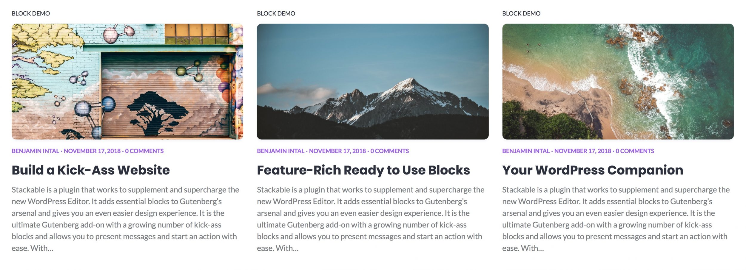 Introducing the Blog Posts Block - Stackable
