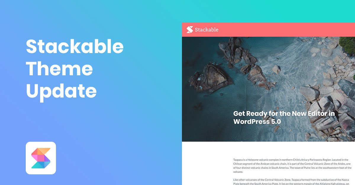 Stackable Theme Update