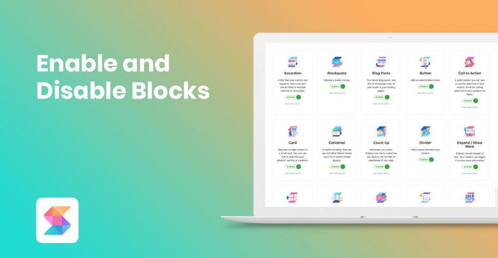 Enable and Disable Blocks