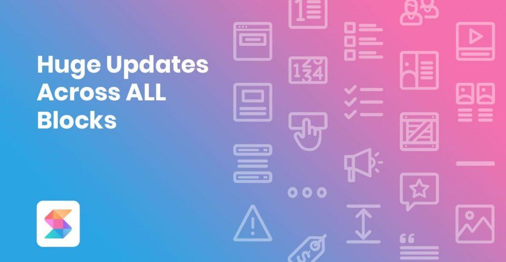 Huge Updates Across All Blocks