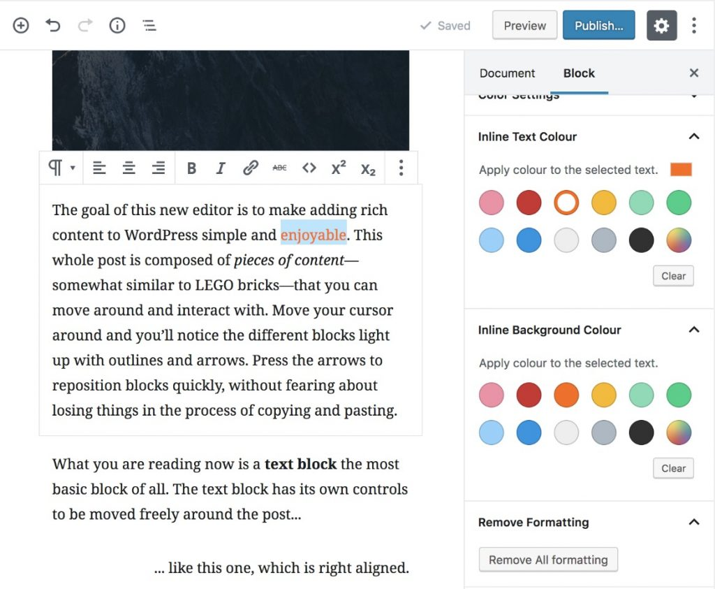 Advanced Rich Text Tools image from WordPress Plugin Directory