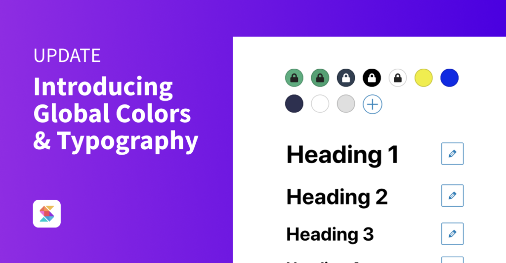 Introducing Global Colors and Global Typography